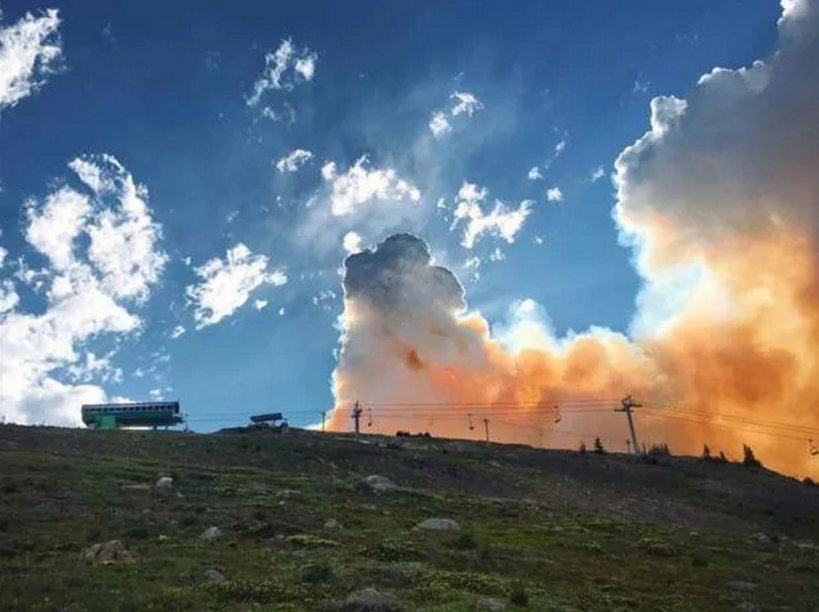 SUNSHINE VILLAGE CLOSED TO THE PUBLIC AGAIN AS WILDFIRE GETS CLOSER