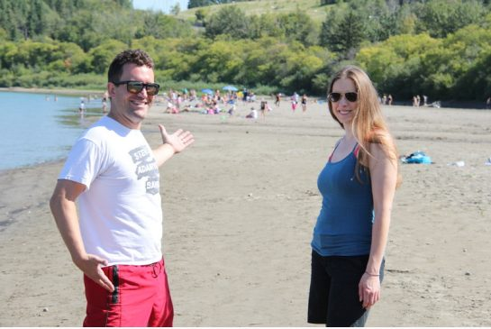 "NO NEW INFRASTRUCTURE HEADING TO EDMONTON'S ""ACCIDENTAL BEACH"""