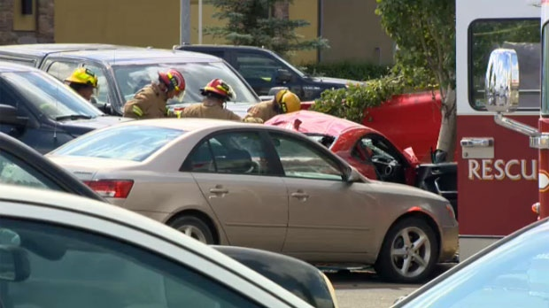 DEADLY CRASH IN SUPERSTORE PARKING LOT IN CALGARY