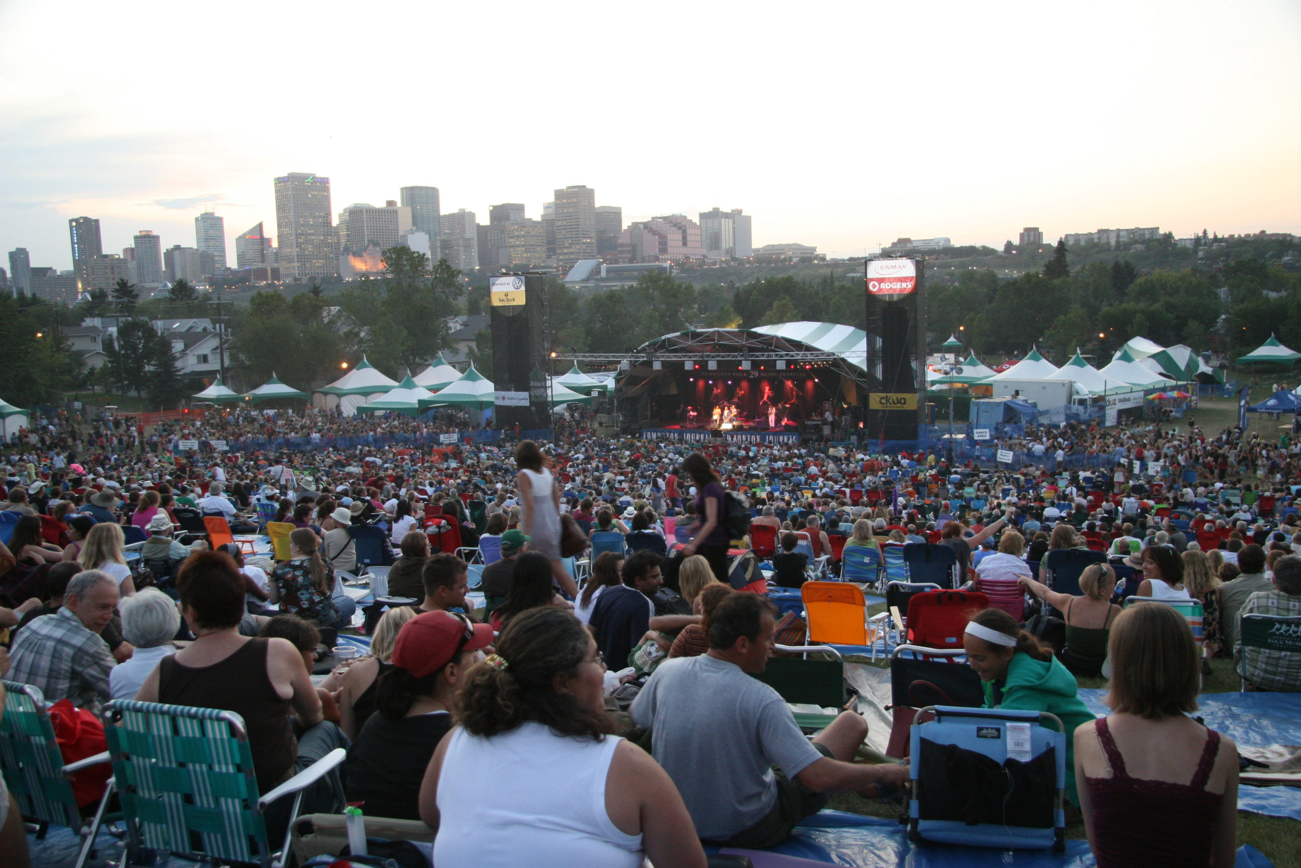 WHAT TO DO IF YOU WERE EVACUATED FROM EDMONTON'S FOLK FEST THURSDAY NIGHT