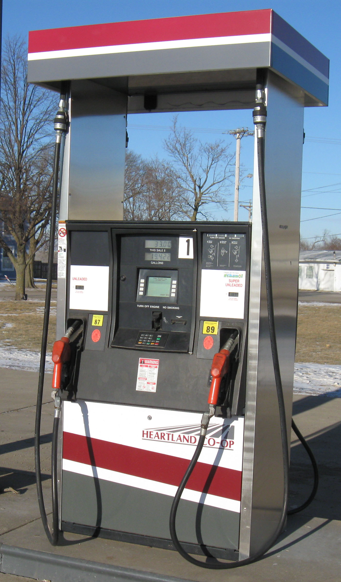GAS PRICES JUMP IN TIME FOR THE LONG WEEKEND
