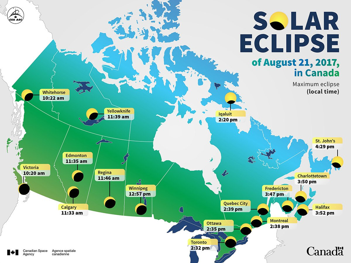 ARE YOU READY FOR NEXT WEEK'S SOLAR ECLIPSE?