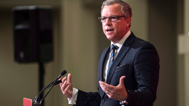 SASKATCHEWAN PREMIER BRAD WALL PACKIN' IT IN