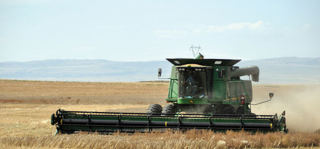 HARVEST WRAPPING UP IN SOUTHERN ALBERTA