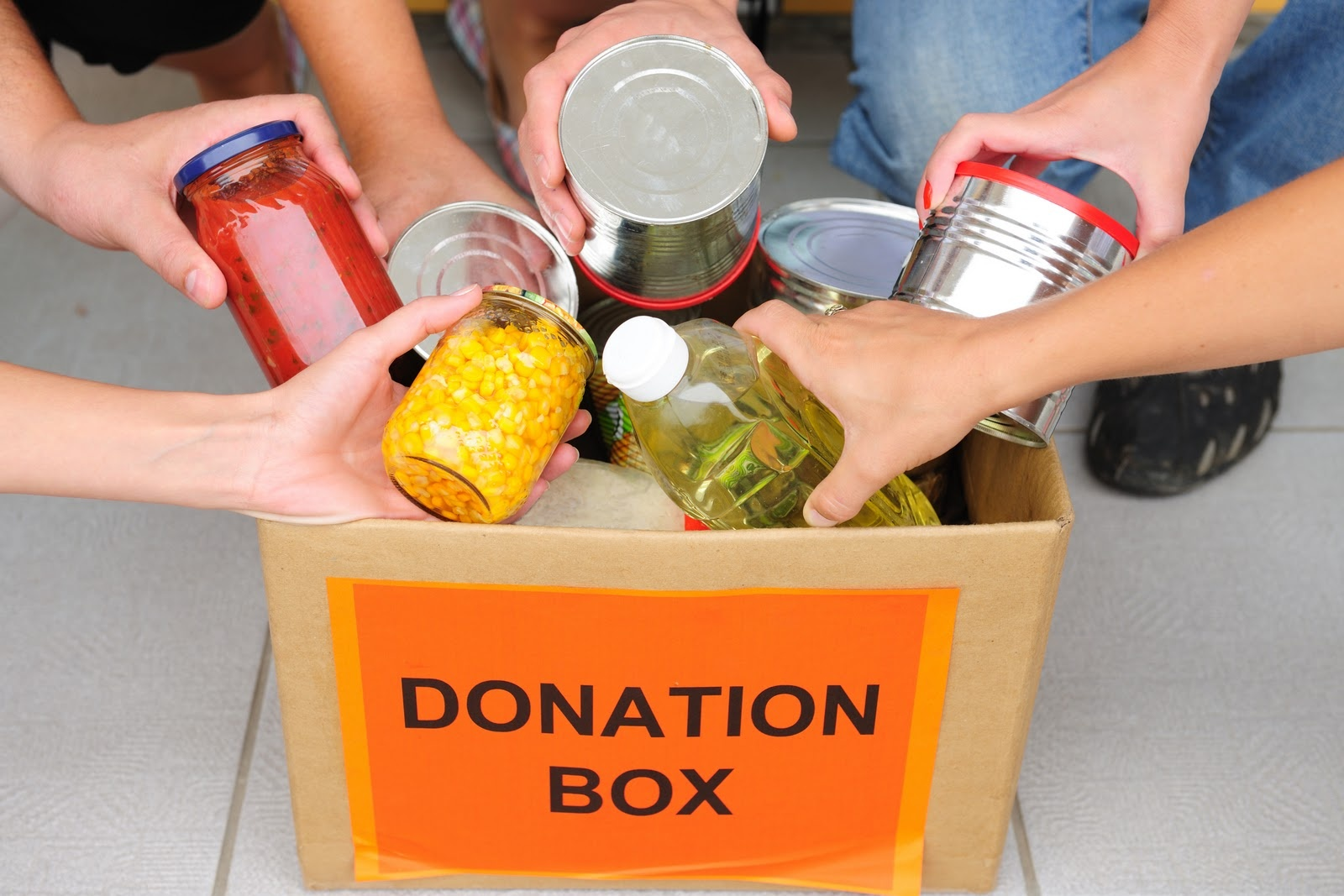 PEOPLE COME THROUGH FOR THE EDMONTON FOODBANK