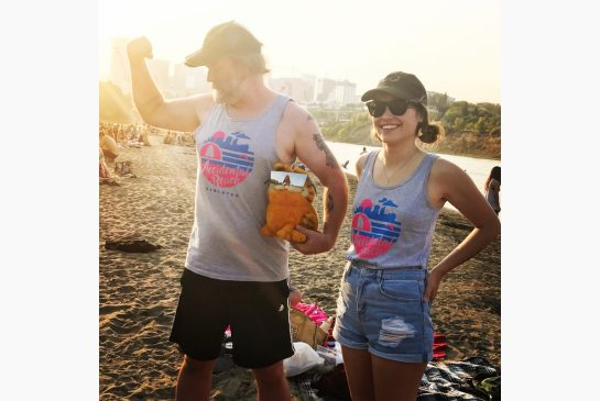 GET YER TANK TOPS----GET YOUR ACCIDENTAL BEACH TANK TOPS