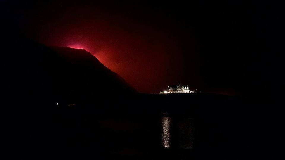 WATERTON LAKES FIRE NOW TWICE THE SIZE OF RED DEER