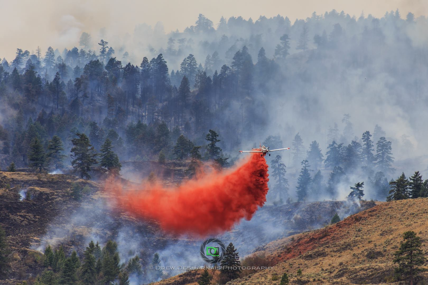 BC WILDFIRE SITUATION IMPROVING
