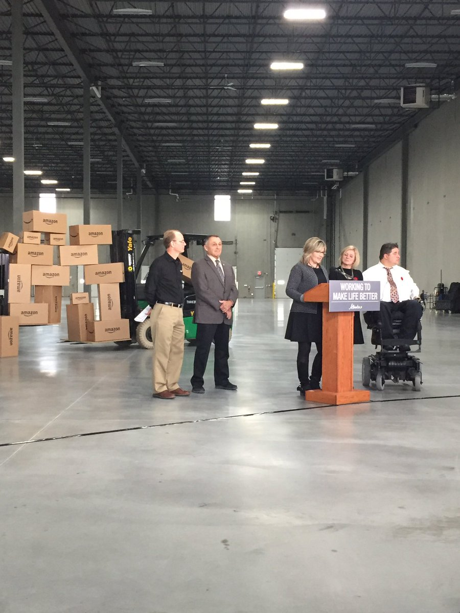 AMAZON OPENING FULFILLMENT CENTRE IN BALZAC