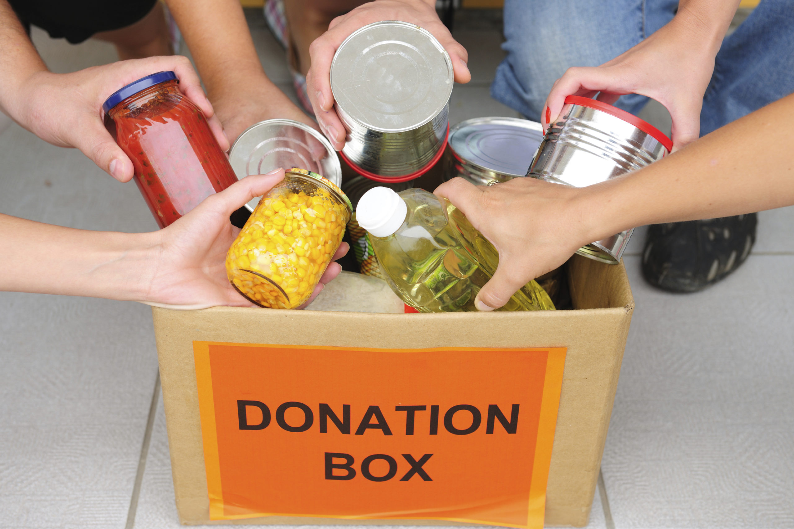 KILLARNEY SCHOOL SCARES UP A HUGE AMOUNT OF DONATIONS FOR THE EDMONTON FOOD BANK