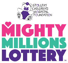 BIG DAY FOR PEOPLE WHO BOUGHT TICKETS IN THIS YEAR'S MIGHTY MILLIONS LOTTERY FOR THE STOLLERY CHILDRENS' HOSPITAL