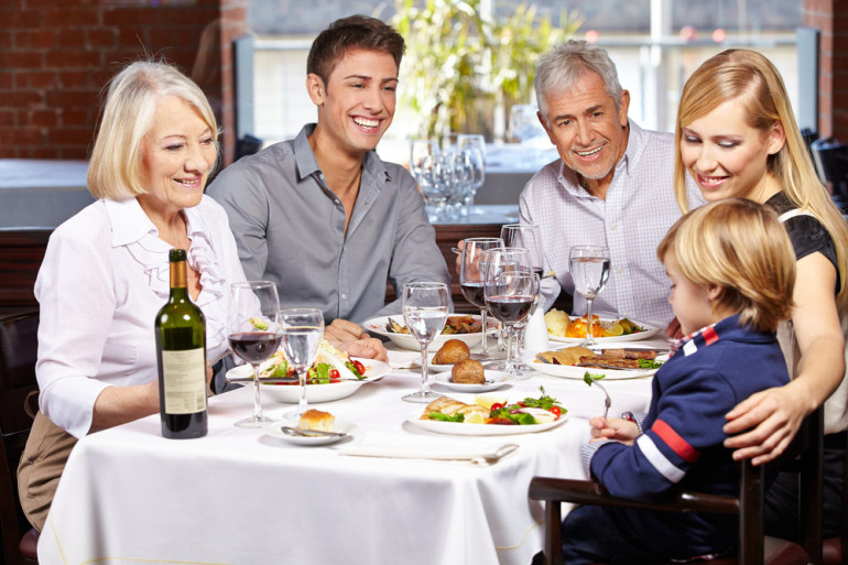 GROCERY PRICES HAVE STABILIZED---BUT CANADIANS ARE HEADING TO THE RESTAURANT MORE OFTEN