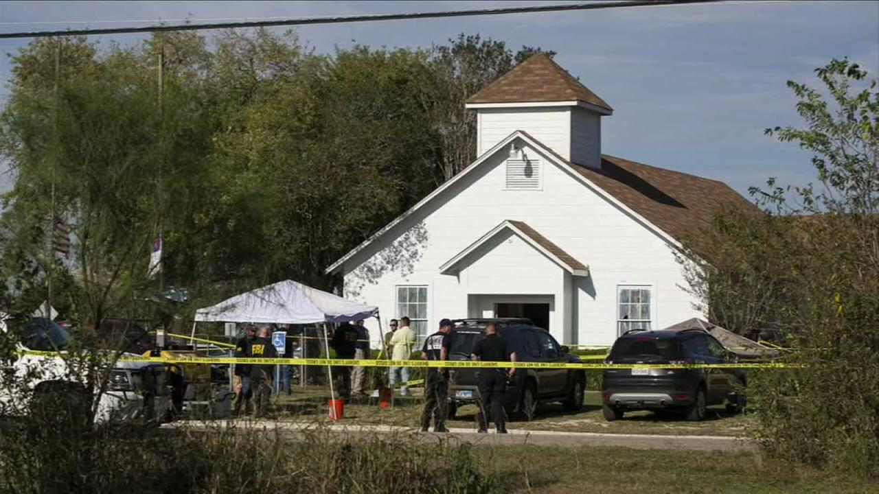 ANOTHER MASS SHOOTING IN THE U-S--AS 26 PEOPLE ARE KILLED DURING CHURCH SERVICE