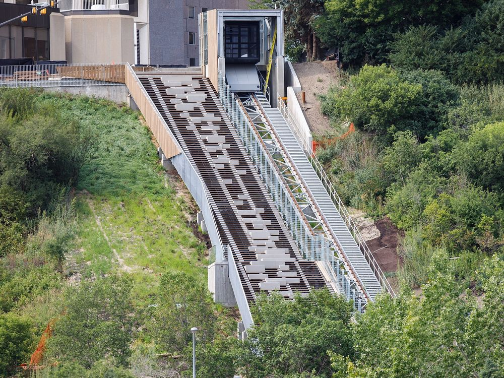 FUNICULAR ALMOST READY
