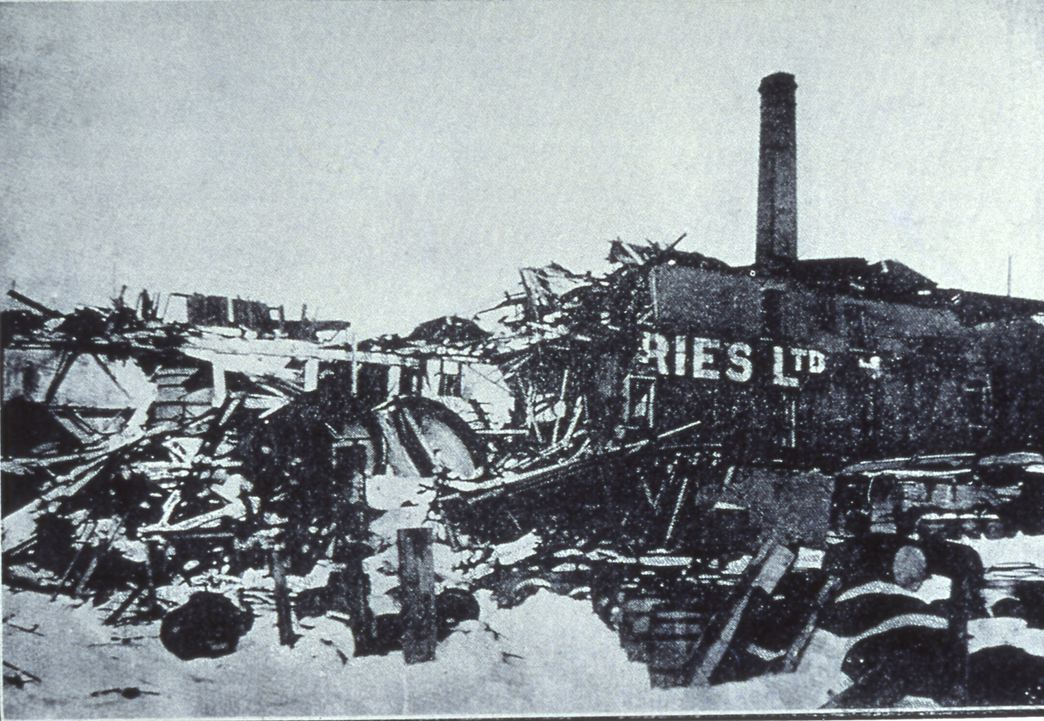 HALIFAX EXPLOSION A CENTURY LATER