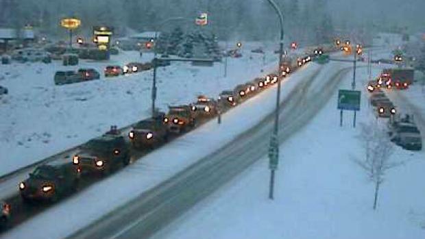 TRANS-CANADA HIGHWAY OPEN AGAIN NEAR REVELSTOKE