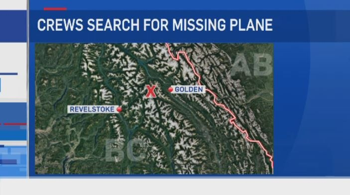 NO SIGN OF MISSING PLANE