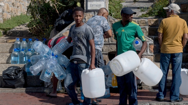 CAPE TOWN, SOUTH AFRICA IS THE FIRST CITY EXPECTED TO RUN OUT OF WATER
