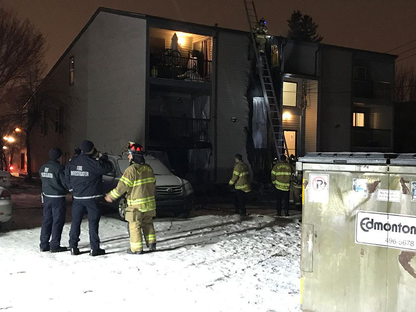 ONE PERSON SENT TO THE HOSPITAL FOLLOWING APARTMENT FIRE