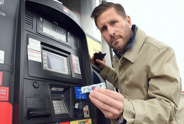 CALGARY GAS STATIONS USING CRIMESTOPPER DECALS TO DISCOURAGE THIEVES FROM TAMPERING WITH PUMPS