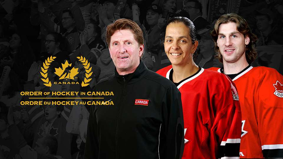 RYAN SMYTH NAMED TO THE ORDER OF HOCKEY IN CANADA