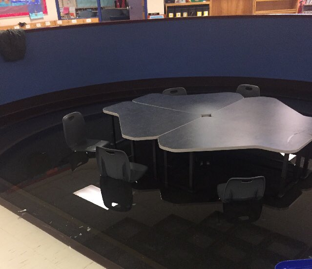 FLOODED EDMONTON SCHOOL