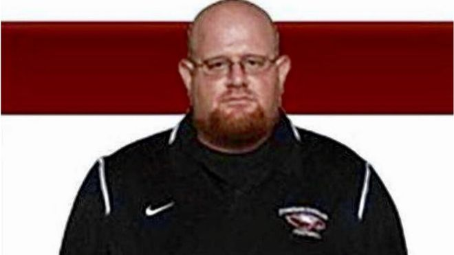 FOOTBALL COACH A HERO--IN THE WAKE OF AMERICA'S LATEST MASS SHOOTING