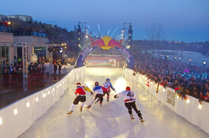 ROAD SHUTDOWNS ON THE WAY FOR THE RED BULL CRASHED ICE EVENT