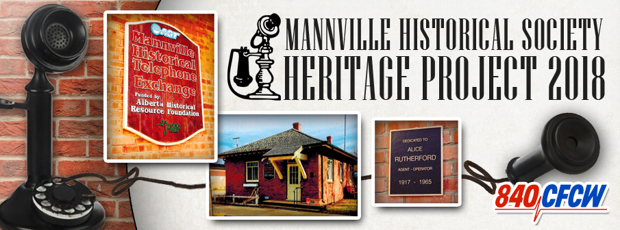 CFCW Heritage Project - Mannville Phone Home Fundraiser Campaign