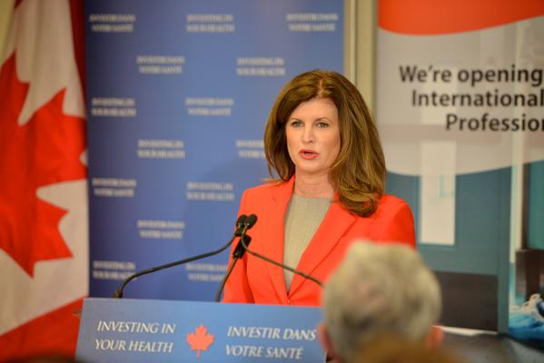 FORMER TORY INTERIM LEADER RONA AMBROSE SAYS SEXISM IS ALIVE IN POLITICS