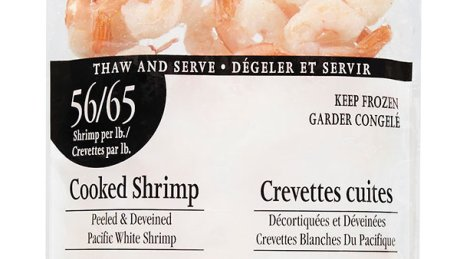 POSSIBLE BAD SHRIMP RECALL