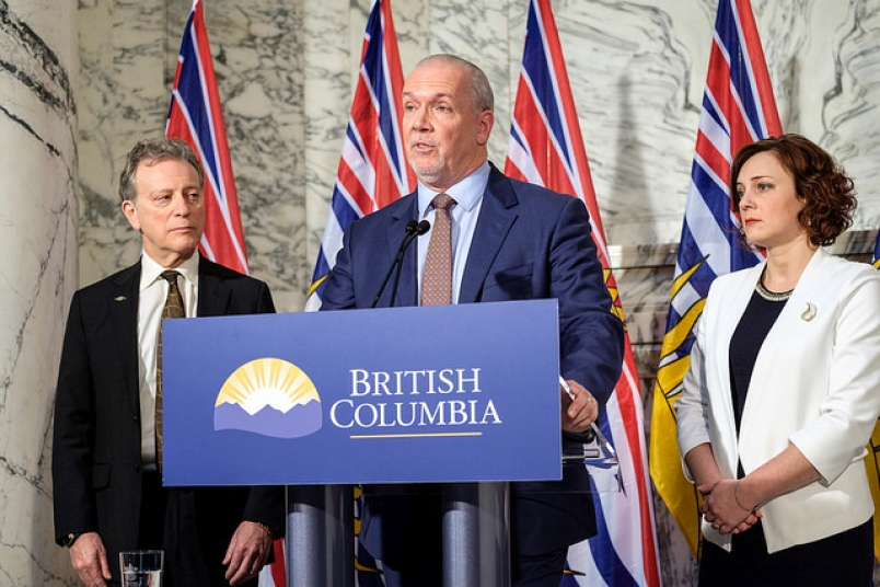BC PREMIER WANTS THE FEDS TO STOP GAS PRICES FROM RISING IN HIS PROVINCE