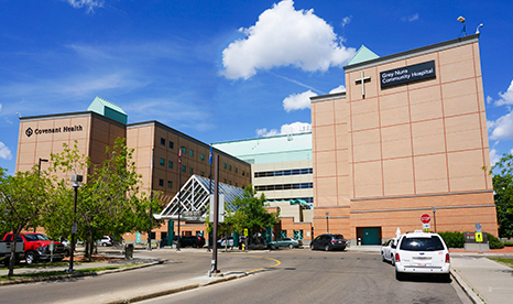 PEOPLE WHO ATE IN THE CAFETERIA AT THE GREY NUNS HOSPITAL----MAY HAVE BEEN EXPOSED TO HEPATITIS A