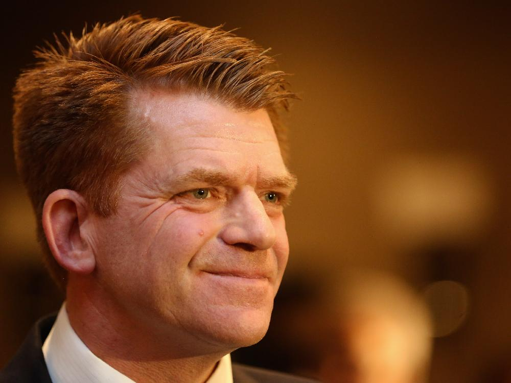 FORMER WILDROSE LEADER BRIAN JEAN----STEPPING AWAY FROM THE POLITICAL LIFE