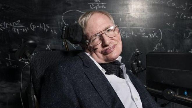 PHYSICIST STEPHEN HAWKING--DEAD AT 76