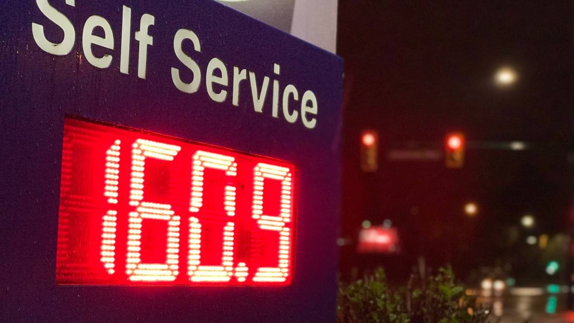 VANCOUVER GAS PRICES THE HIGHEST IN NORTH AMERICA