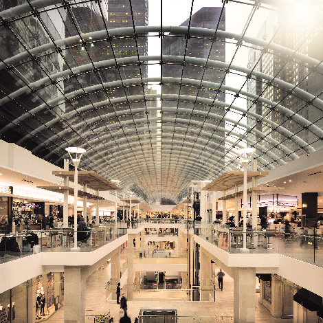 BODY FOUND IN MALL WALL