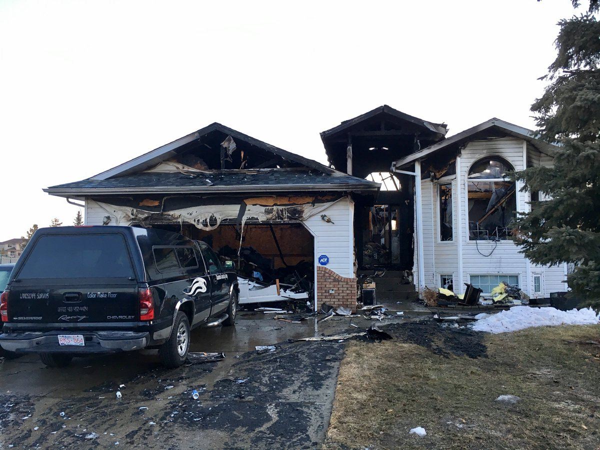 HOUSE FIRE IN SE EDMONTON LAST NIGHT