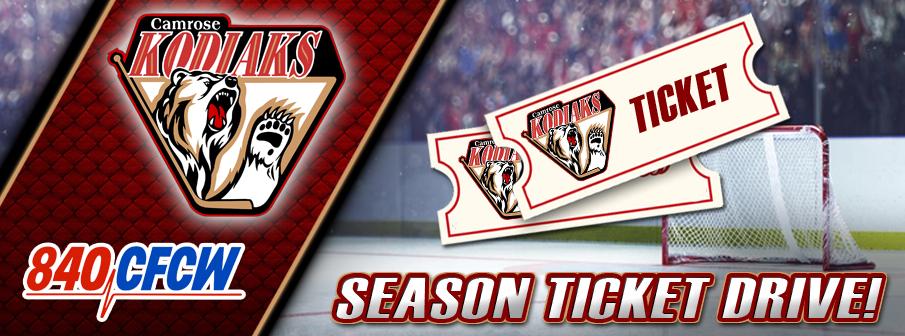 Camrose Kodiaks Season Ticket Drive