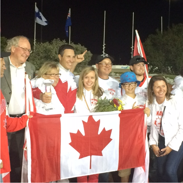 PEI's James MacDonald wins World Driving Championship at home
