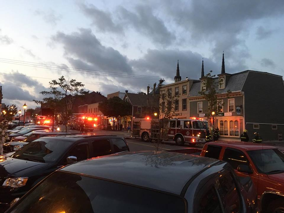 Small fire breaks out in downtown restaurant in Charlottetown