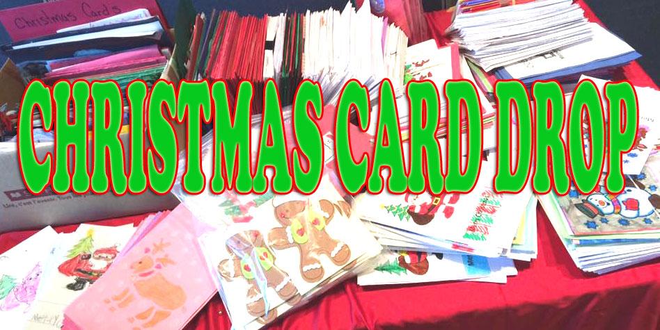 Christmas Card Drop