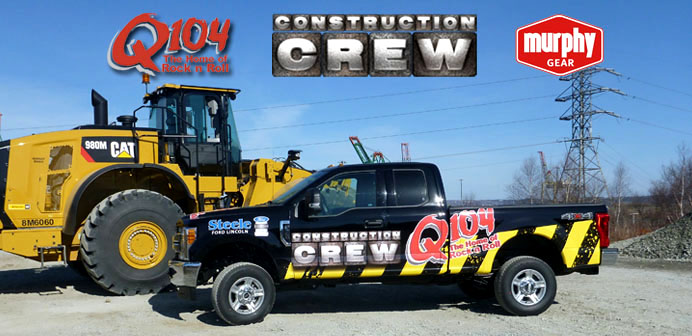 Q104 Construction Crew Powered By Murphy Gear