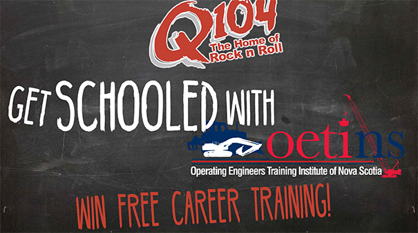 Q104's GET SCHOOLED with OETINS