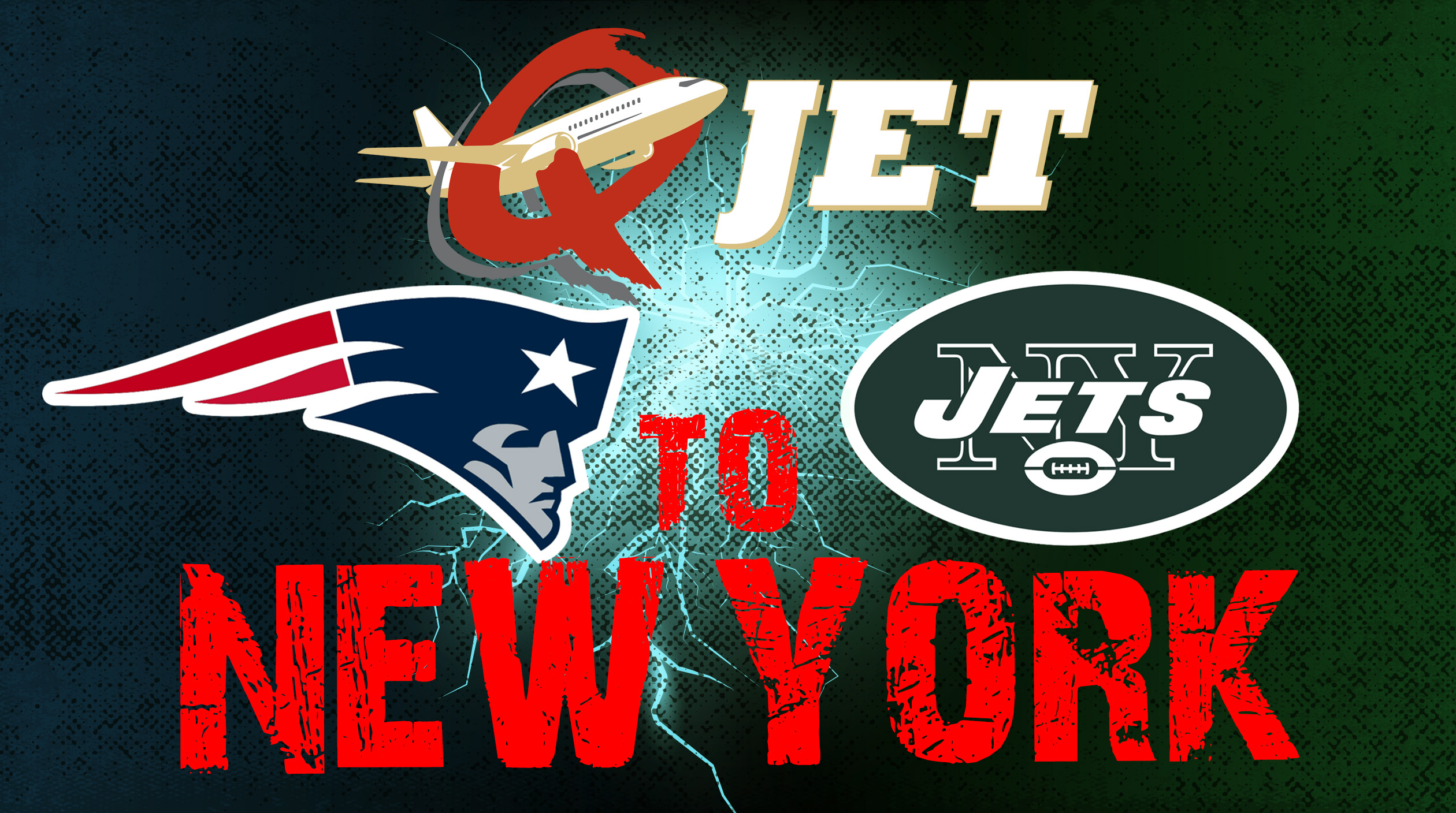 Q-Jet to New York – Patriots at NY Jets! With gametimetours.ca
