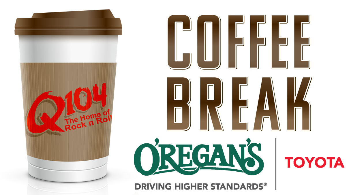 Q104's Coffee Break with O'Regan's Toyota Tacoma
