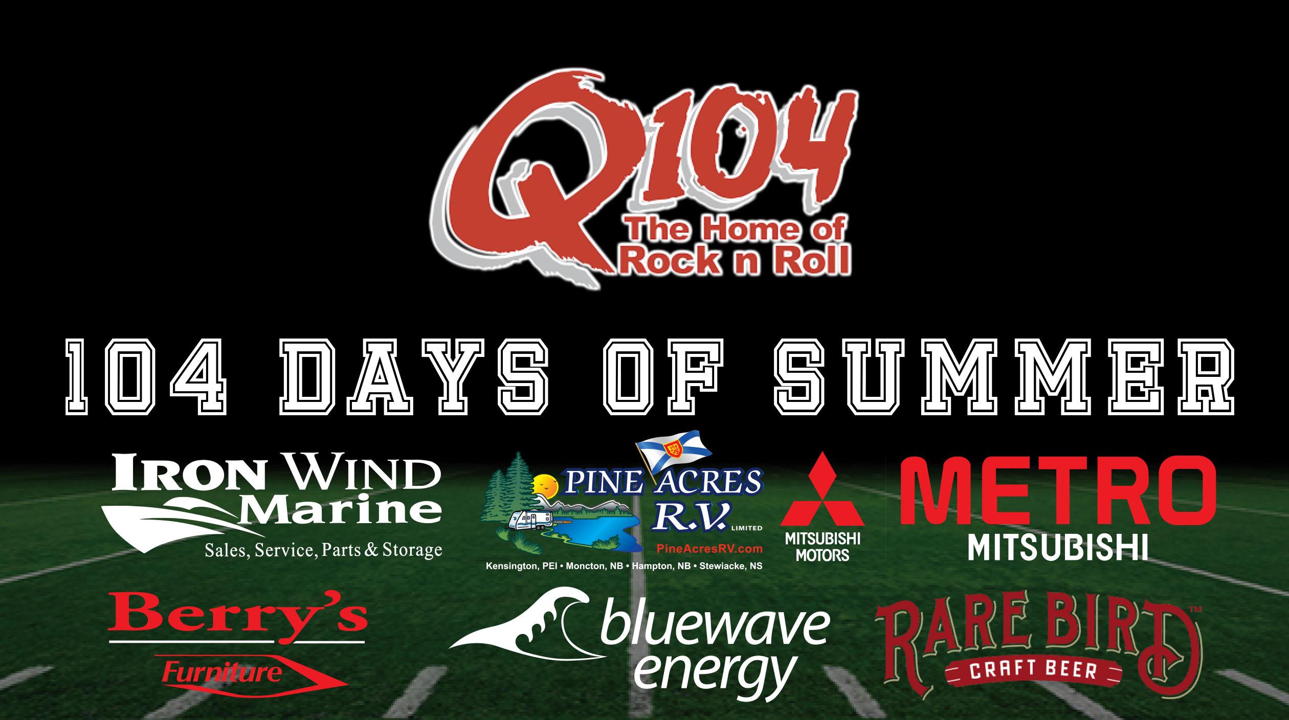 Q104's 104 Days of Summer