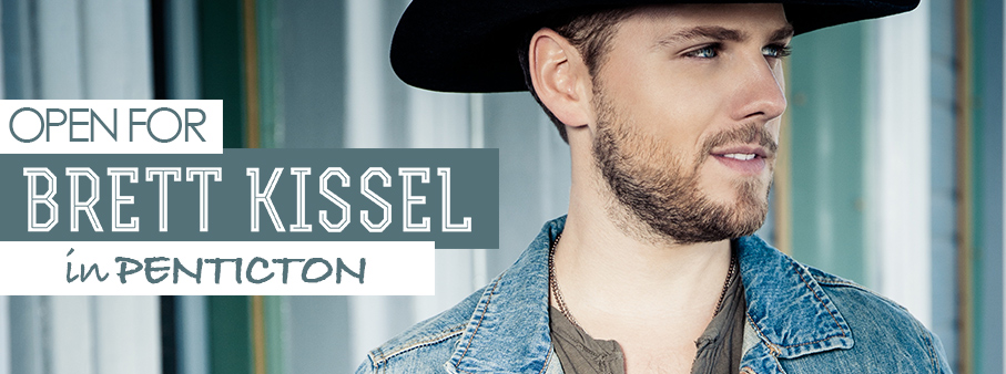Open For Brett Kissel In Penticton