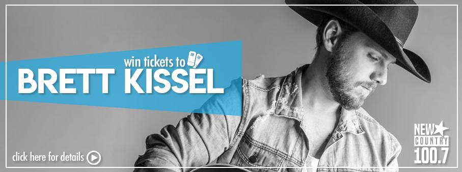 Win Tickets To Brett Kissel In Penticton!