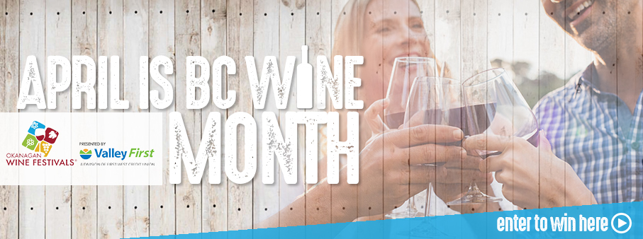 WIN with BC Wine Month